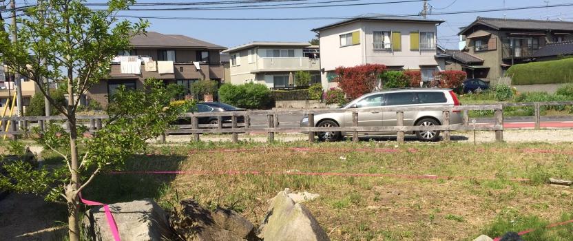 愛知県安城市「塔元の家」木造2階建 スキップフロア 配置決め