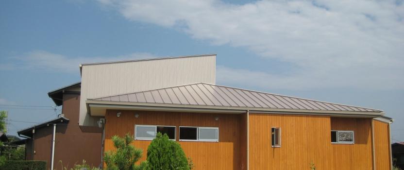 岐阜県羽島市「回光の家」木造住宅 平屋建て オープンハウス