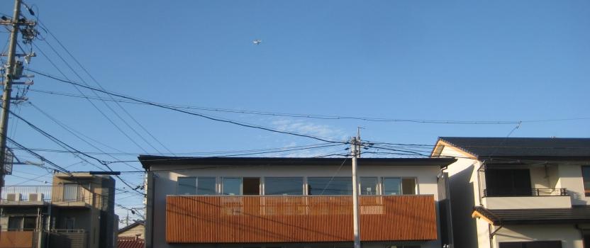 愛知県あま市甚目寺「大渕の家」木造2階建 2世帯 現場