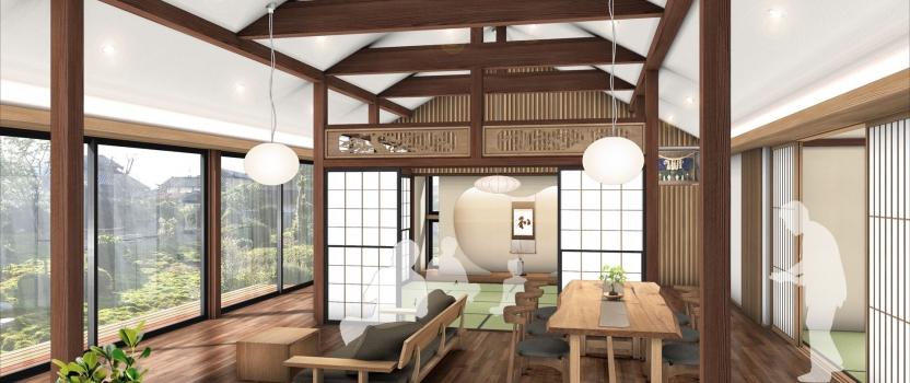 富山県射水市「射水の家」 リノベーション 現場準備中