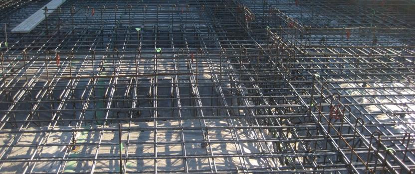 岐阜県羽島市「回光の家」木造住宅 平屋建て 配筋検査
