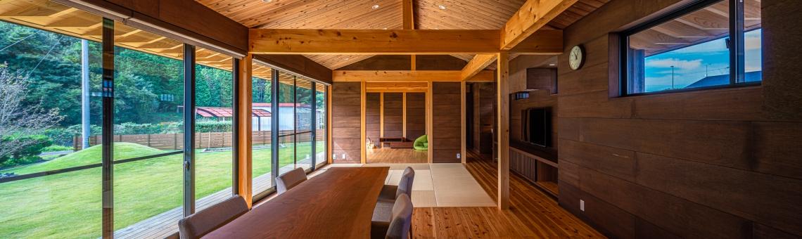 WEB建築サイトhomifyに「御嵩の平屋」が掲載されました