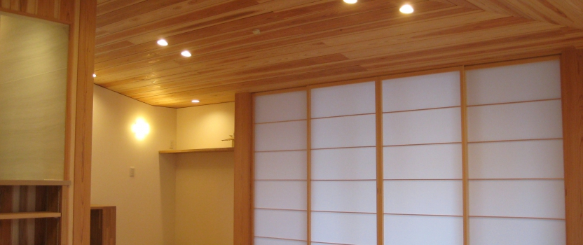 愛知県犬山市「古券の家」木造2階建て 現場