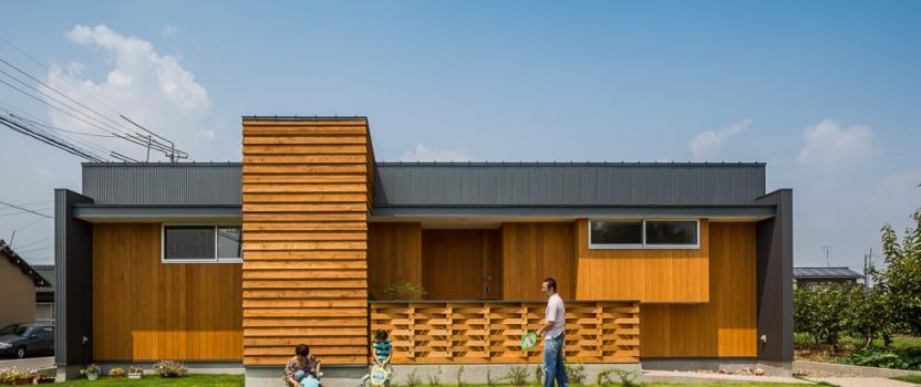 岐阜県羽島市「和光の家」木造住宅 グッドデザイン賞 一次審査通過
