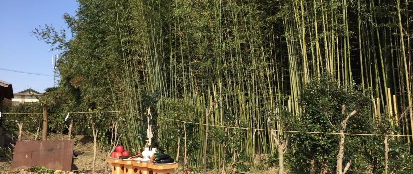 愛知県東海市「大田の家」木造2階建 2世帯住宅 地鎮祭