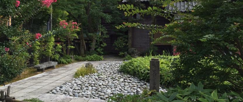 建物探訪 加賀5 魯山人寓居跡いろは草庵