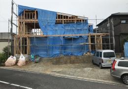 愛知県岡崎市 「上地の家」 木の家 現場