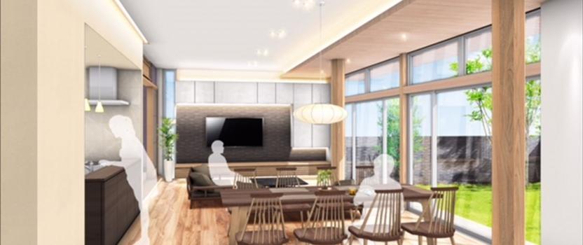 中国張家港市 「張家港の家」 木の家 技術打合