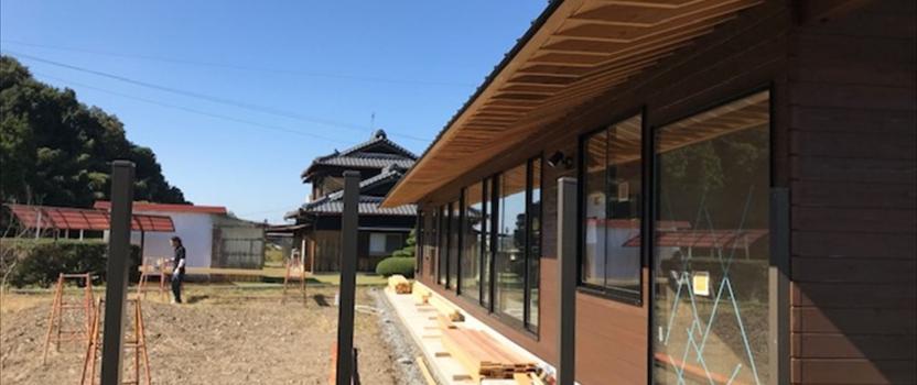 岐阜県可児市 「御嵩の家」 平屋 木の家 現場