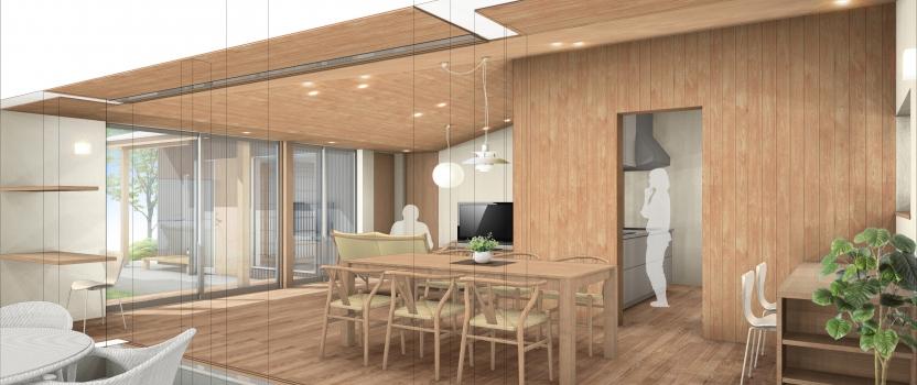 愛知県犬山市「古券の家」木造住宅 工事が始まります