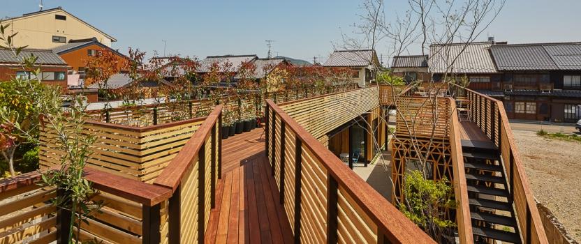 「移動茶室」「森のマルシェ犬山」 グッドデザイン賞一次審査ダブル通過