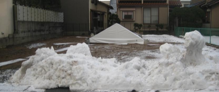 福井県福井市「和敬の家」木造2階建て 地鎮祭