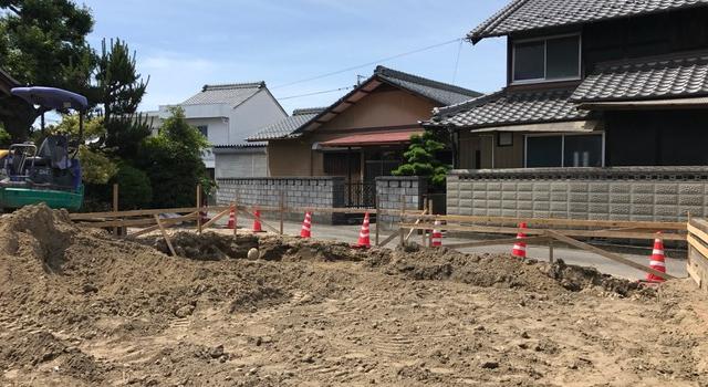 岐阜県岐南町 「徳田の家」 木造2階建 現場