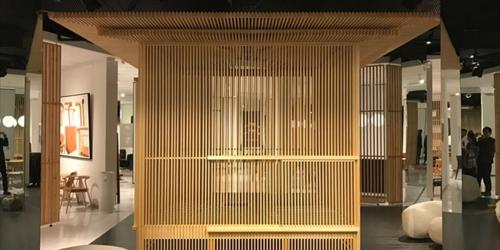 「森の茶室/移動茶室」が上海にて展示されています