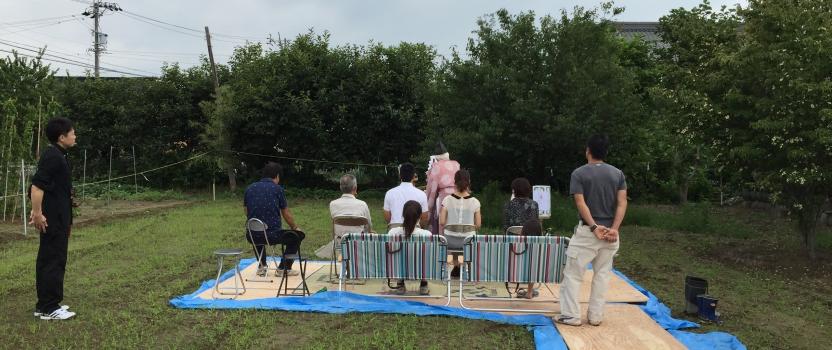 岐阜県海津市「駒ケ江の家」 木造2階建住宅 地鎮祭