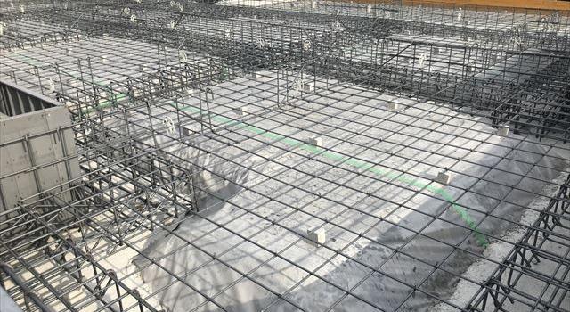 岐阜県養老町 「養老の平屋」  配筋検査