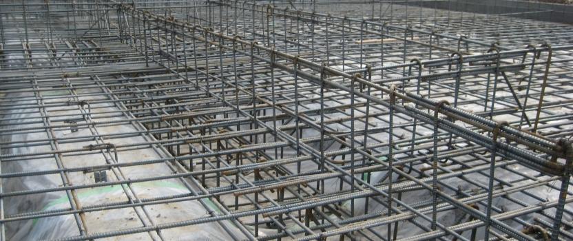 愛知県一宮市東加賀野井「川原の家」木造住宅 配筋検査