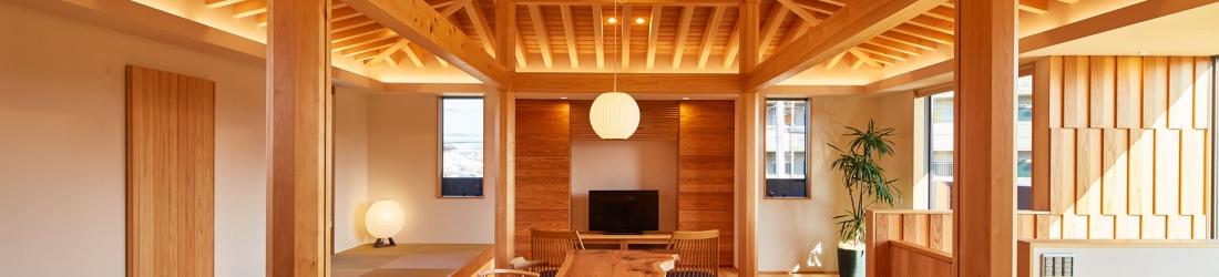 「桑原木材の家」が すまいのあかり設計集2017-2018(Panasonic) に掲載されています