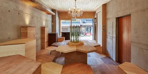 「森のカフェ」「檜の茶室」が名古屋TV「昼まで待てない!」に紹介されました