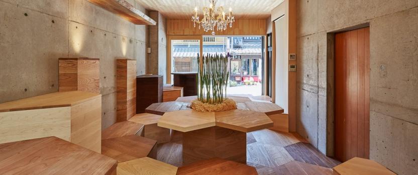 「森のカフェ」「檜の茶室」がTVで放映されました