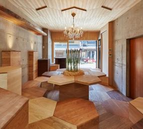 森のカフェ・蔵ギャラリー