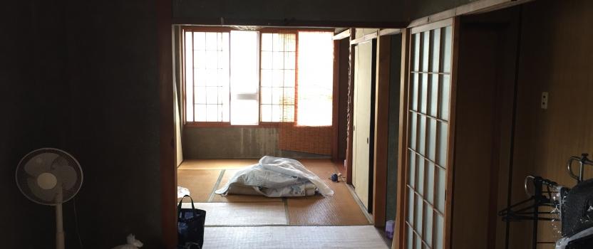 岐阜県岐阜市「築40年ビル 住宅リノベーション」 ビルリノベ 工事が始まります