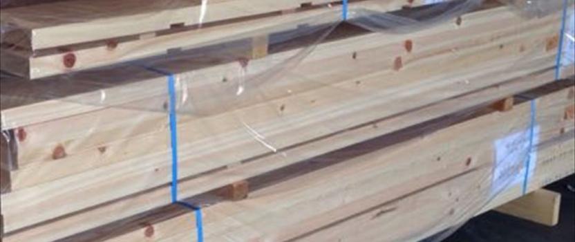 中国張家港市 「張家港の家」 木の家 輸送