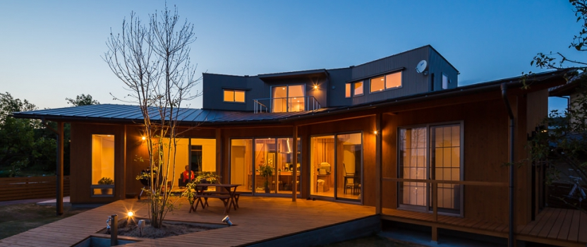 岐阜県各務原市「緑苑の家」木造住宅 竣工写真