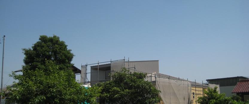 岐阜県羽島市「回光の家」木造住宅 平屋建て 現場 オープンハウス開催