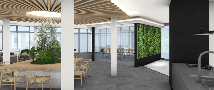 愛知県一宮市 木造2階建 「本社事務所BLD」 実施設計中