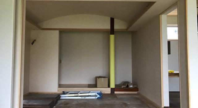 岐阜県 海津市 「駒ケ江の家」 木の家 現場