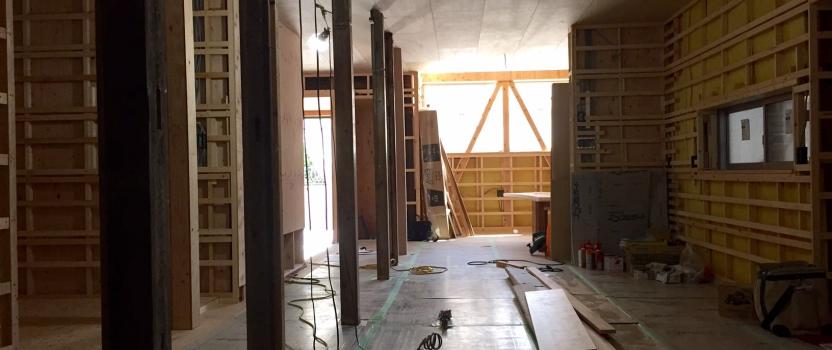 愛知県名古屋市「尾頭橋の家」 築90年リノベーション 現場