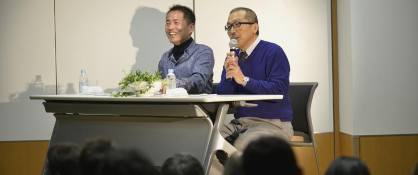 渡辺篤史さんとのトークショー 写真届きました