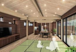 岐阜県可児市 「御嵩の家」 木の家 現場