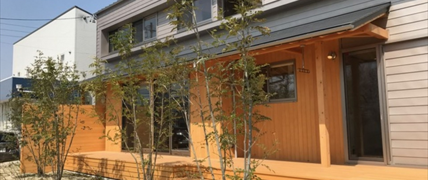 愛知県津島市 「神守の家」 木の家 竣工写真