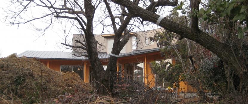 岐阜県各務原市「緑苑の家」木造住宅 現場