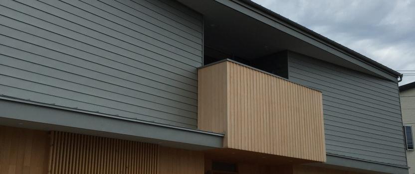 愛知県安城市「塔元の家」木造2階建 スキップフロア・変形敷地 建物探訪