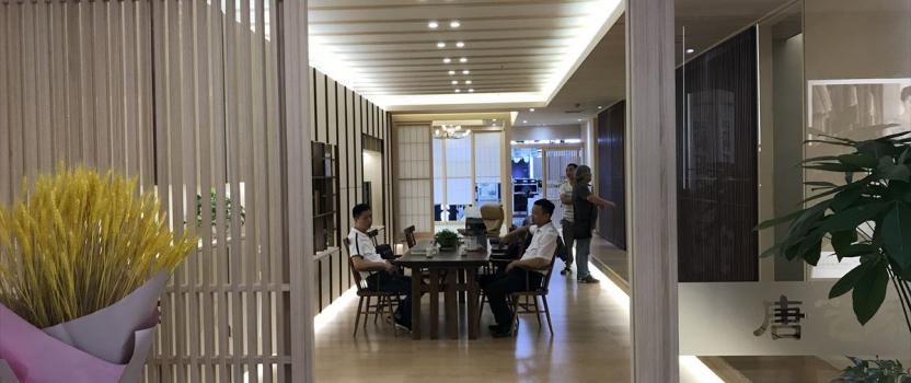 中国上海「上海ショールーム 初音」 竣工
