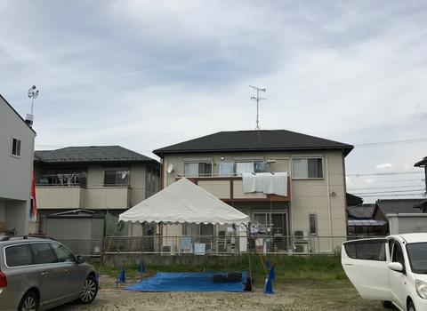 愛知県津島市 「神守の家」 木造2階建 地鎮祭