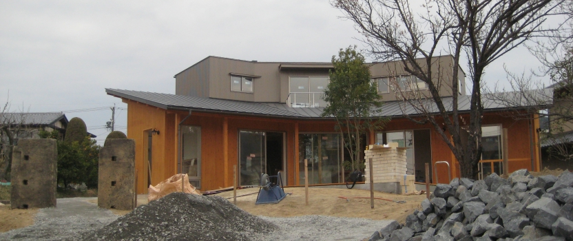 岐阜県各務原市「緑苑の家」木造住宅 オープンハウス