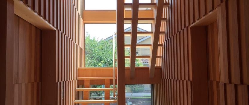愛知県小牧市「桑原木材㈱モデルハウス」 国産材 木の家 説明会
