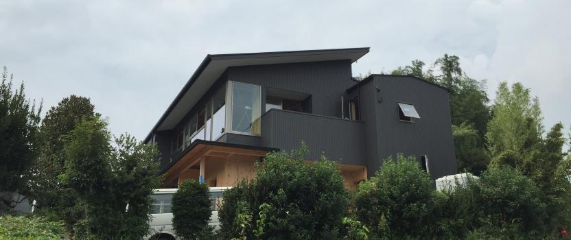 愛知県東海市「大田の家」 国産材 2世帯住宅 現場