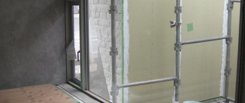 愛知県西尾市「白珪の家」木造+鉄骨造 浴室