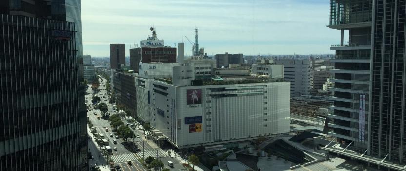 名古屋市名駅「大名古屋ビルヂング内」ショールーム店舗 11F現場確認